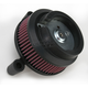 Black Big Sucker Stage I Performance Air Cleaner Kit - 18-829