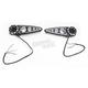 Black LED Rear Turn Signals/Brake Lights - 04-311