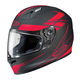 Black/Red Force FG-17 Helmet