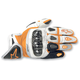 Orange/White/Black SP-X Leather Gloves