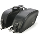 Plain Extra-Large Futura 2000 Slant Saddlebags - 8800P