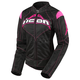 Womens Black/Pink Contra Jacket