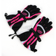 Womens Black/Pink Comp 7 Gloves