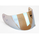HJ-09 RST Blue Mirrored Shield for HJC and Joe Rocket Helmets - 19-007