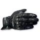 Black SP-X Leather Gloves