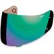 Green Anti-Fog Shield for Icon Helmets - 0130-0393