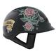 Lady Rider Vented Beanie Half Helmet
