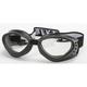 Black G-903 Goggles w/Clear Mirror Lens - G-903BK/CLM