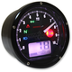 Black T and T Tachometer/Speedometer - BA035K00