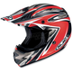AC-X3 Agent Helmet /Adult/Red/Black/Flat Red/White/Female/Male