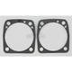 Single-Layer Steel (SLS) Base Gaskets w/3 5/8 in. or 3 3/4 in. Bore, .010 in. - C9532