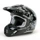 Black Stunt FX-17 Helmet