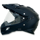 Flat Black FX-41DS Helmet