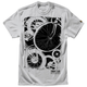 Silver Gray Wheels T-Shirt