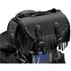 Rivet Extra-Large Traveler Bike Rack Bag w/Fringe - 3002RCF