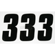 Factory 7 in. Numbers - FX08-90083
