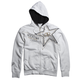 White Golden Rockstar Zip Hoody