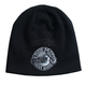 Black Circle Bike Beanie - KHB1040