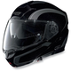 Black/Anthracite N104 N-Com Modular Helmet