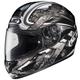 Black/Dark Silver/Silver Shock CL-16 Helmet