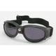 Black G-905 Goggles w/Smoke Lens - G-905BK/SM