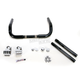 Black/Chrome 10 in. Conventional Klip Hanger Handlebar - 0601-2421