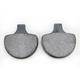 Organic Brake Pads - 1720-0204