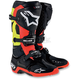 Black/Red/Yellow Tech 10 Boots