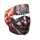 Smoking Clown Full Face Mask - FMA1023