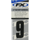 Factory 4 in. Numbers - #9 - FX08-90009