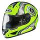 Hi Viz/Silver Machine CL-16 Helmet
