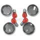 Smoke Turn Signal Lens Kit with Chrome Trim Rings - 2020-0392