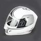 White Alliance Reflective Helmet