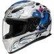 RF-1100 Corazon White/Blue/Silver Helmet