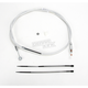 Custom Sterling Chromite II Designer Series Alternative Length High Efficiency Clutch Cables for Custom Height/Width Bars - 32214HE