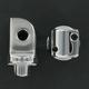 Chrome Splined Adapter Mounts - 8826