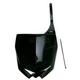 Black Yamaha Front Number Plate - YA04832-001
