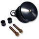 Black Anodized Smooth Air Cleaner Assembly - 02-140B