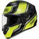 Black/Hi Viz Yellow Qwest Overt  Helmet