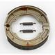 Asbestos Free sintered Metal Brake Shoes - 9116