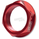 Red Steering Stem Nut - 2190-706
