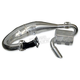 Single Pipe Tuned Exhaust System w/Ceramic Coated Canister and Pipe - 09-834