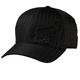 Black Pinstripe Flex 45 FlexFit Hat