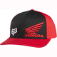 Red Honda Flex-Fit Hat