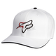White Abound Out Flex-Fit Hat