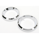 Small Billet Instrument Gauge Bezels for 2 in. Gauges - 2202-0061