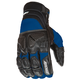 Black/Blue Atomic X Gloves