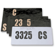 License Plate Decal Kit - 4303-0166