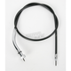 Black Vinyl Speedometer Cable - 0655-0041