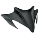 13 1/2 in. Gloss Black Peakline Windshield - 480-600-50